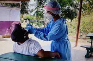 Se busca detectar posibles pacientes asintomáticos entre los jornaleros. Foto: Thays Domínguez