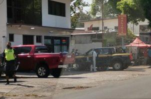 La Policía Nacional y el Ministerio Público acudieron al lugar del hallazgo. Foto: José Vásquez
