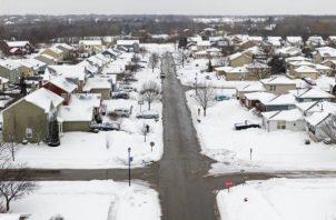 La tormenta ha dejado registros de temperaturas bajas sin precedentes. EFE