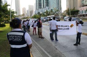 El PAC busca servir de canal de comunicación entre los manifestantes y las autoridades.