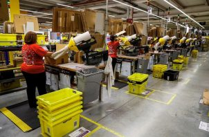Amazon no desinfectó adecuadamente sus instalaciones. Foto/EFE