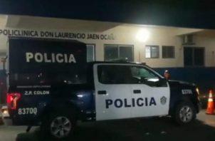 Personal del MP se trasladó hacia la sala de urgencias para hacer el levantamiento del cadáver y al lugar donde ocurrió el accidente.