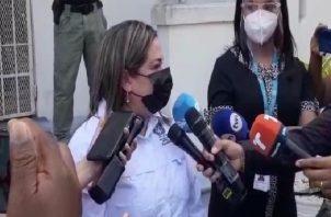 """""""Estamos en este momento analizando el informe que ha remitido la Asamblea Nacional, el cual consta de 700 páginas para entonces establecer cuáles son las acciones que vamos a establecer"""", dijo Meléndez."""