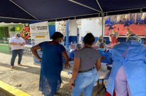 La madrugada de este miércoles llegaron a Panamá  67,860 dosis de vacunas contra la covid-19.