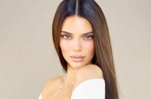 Kendall Jenner estuvo trabajando en este proyecto mucho tiempo. Foto: Instagram
