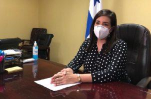 Judy Meana se reintegra a la Alcaldía de Panamá. Foto: Archivos