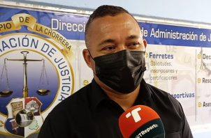 Iván Ivaldi, director del Departamento de Administración de Justicia del Municipio de La Chorrera