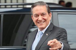 Laurentino Cortizo, presidente de la República de Panamá. Archivo