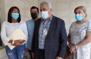 Abogados del expresidente Ricardo Martinelli