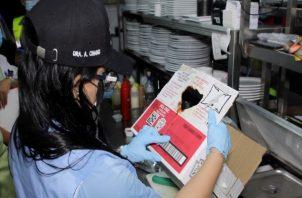 En este operativo participó también el equipo de Salud Pública apoyados por el personal del Ministerio de Trabajo y Desarrollo Laboral (Mitradel) y la Fuerza de Tarea Conjunta (FTC).
