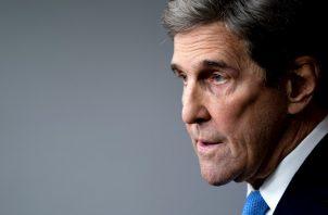 En la imagen, el enviado especial estadounidense para el clima, John Kerry. Foto:EFE