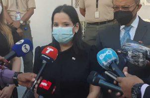 La ministra María Inés Castillo deberá presentar el proyecto. Foto de Víctor Arosemena