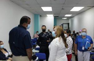 Este domingo se realizó una reunión en donde participó no solo el equipo de salud de la región de San Miguelito, sino también personal de otras instituciones y ministerios.