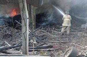 Para mediados de febrero, un grupo de cazadores de iguanas causaron un Imave, de gran magnitud en el área de Espavé de Chame, el cual puso en riesgo la red eléctrica nacional.