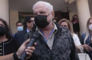 Ricardo Martinelli, expresidente de la República, ha denunciado reiterados abusos en su contra. Archivo
