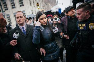"""Estados Unidos detuvo ayer, 22 de febrero, a Emma Coronel Aispuro, la esposa del narcotraficante mexicano Joaquín """"El Chapo"""" Guzmán. Foto: EFE"""