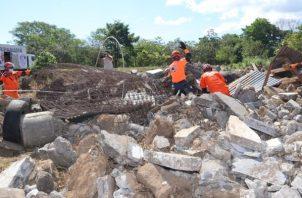 El curso de rescate urbano comenzó ayer, lunes 22 de febrero.