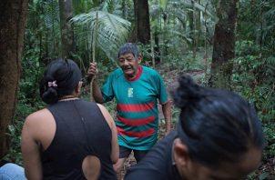 El último chamán de los Juma de Brasil. Foto: EFE