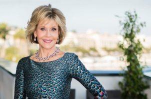 Jane Fonda será una de las homenajeadas. Foto: Archivo