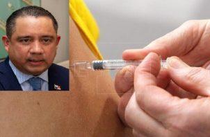 Marcos Castillero justificó la vacunación de sus familiares.