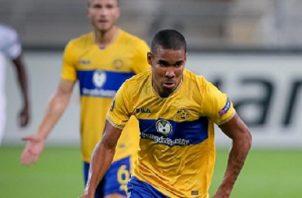 Eduardo Guerrero, delantero panameño del Maccabi Tel Aviv de Israel. Foto: Twitter