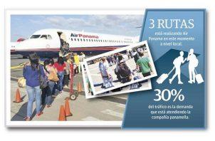 Luis Eleta, gerente de operaciones de Air Panamá, señaló que han iniciado operaciones con dos vuelos diarios desde el aeropuerto de Albrook hacia las ciudades de David, Bocas del Toro y Changuinola.