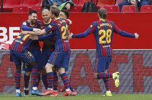 Barcelona no renuncia a la Liga.