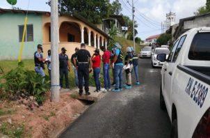 De acuerdo con los vecinos de la comunidad de Limón, al momento del incidente se escucharon unas cinco detonaciones.
