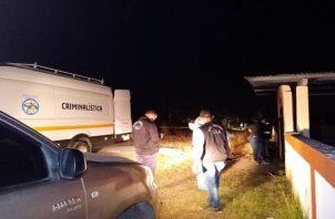 Los presuntos sicarios, fueron localizados en la barriada Brisas La Mitra, corregimiento de Playa Leona, así lo confirmó el comisionado René Hernández, jefe de la zona policial de La Chorrera. Foto:Eric Montenegro
