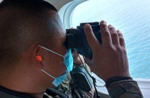 El agente Miguel Ávila cayó al mar en la bahía de Parita desde una embarcación de patrullaje, debido al mal tiempo imperante, cuando realizaban una operación costera contra el narcotráfico.