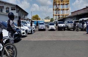 Las autoridades no descartan que el hurto de estos autos haya sido realizado por una banda organizada y especializada en este tipo de delitos.  Foto: Eric Montenegro