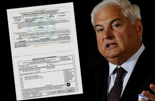 El exmandatario panameño confirmó que el documento mantiene vigencia hasta el próximo mes de octubre de 2021. Foto:Cortesía