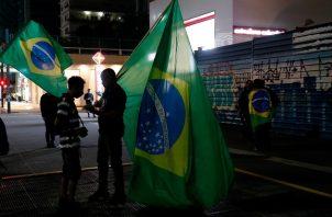 Brasil vive el peor momento de la pandemia del coronavirus, con una explosión de casos. Foto: EFE