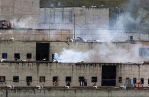 Vista de la cárcel del Turi, en la ciudad de Cuenca