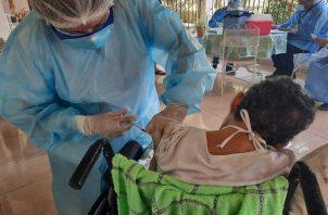La vacunación comenzará en San Miguelito este jueves 4 de marzo.