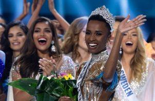 La corona del Miss Universo la porta actualmente la surafricana Zozibini Tunzi. Foto: Instagram / @missuniverse