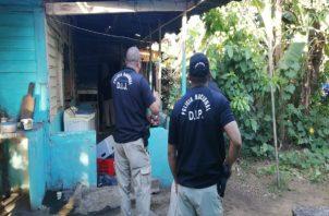Miembros de la Sección de Atención Primaria de San Miguelito y unidades de la Policía Nacional aún se mantienen en el área.