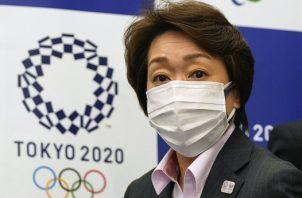 Seiko Hashimoto, presidenta del comité organizador de los Juegos Olímpicos de Tokio. Foto: EFE