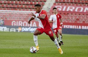 Bárcenas ha disputado 23 partidos de Liga y ha marcado dos goles. Foto: Twitter