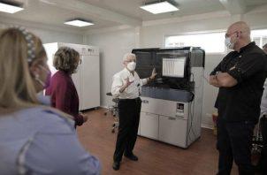 Inauguración del laboratorio modular.