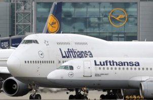 El número de pasajeros transportados por Lufthansa se redujo a 36,4 millones, cantidad que representa la cuarta parte del 2019. EFE