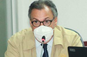 El presidente de la Corte Suprema, Luis Ramón Fábrega, culmina su periodo el último día de este año, y dijo que está contando los días. Foto de cortesía