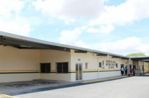 Edgar Rodríguez Vergara de 21 años llegó al Centro Materno Infantil de Antón