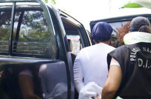La mujer fue aprehendida por la Fiscalía el jueves, 4 de marzo de 2021, en una residencia en Arraiján, provincia de Panamá Oeste.