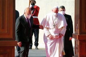 El papa Francisco acude a Irak para homenajear a los cerca de 300.000 cristianos que quedan en el país. EFE