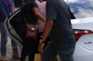 La mujer fue detenida en la ciudad de Panamá.