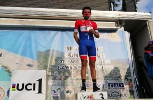 Franklin Archibold entró a la meta con 16 segundos de diferencia, con respecto al ganador de la prueba, Carlos Quintero. Fepaci