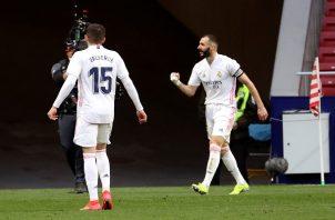 Benzema evitó la derrota del Madrid.