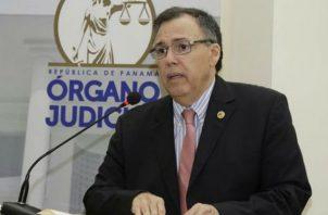 Luis Ramón Fábrega es el presidente de la Corte Suprema de Justicia.