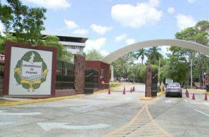 Campus central de la Universidad de Panamá.